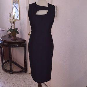 INDIGO CHAMBRAY CALVIN  KLEIN DRESS